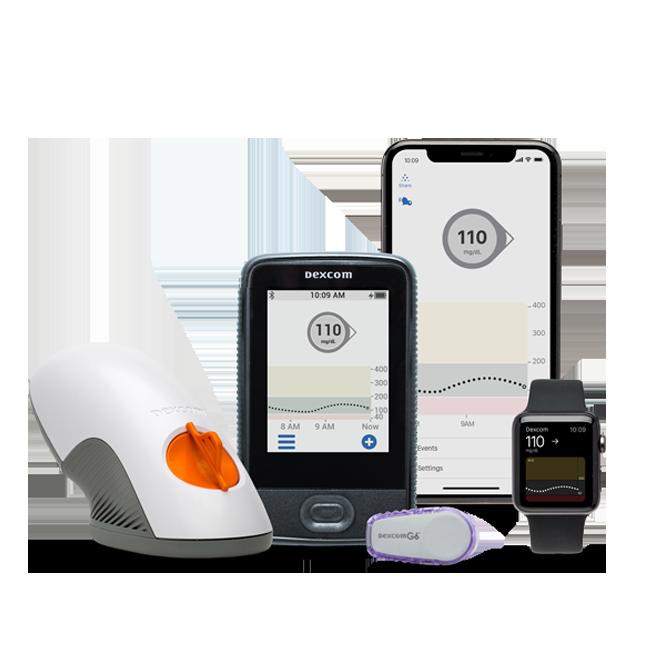 Dexcom G6 Continuous Glucose Monitoring Cgm System
