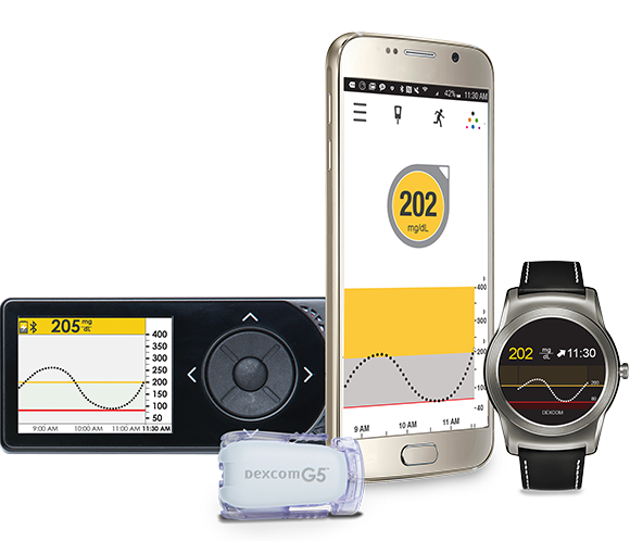 Dexcom G5 Mobile CGM | Now compatible with Android Devices