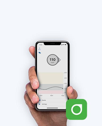 Dexcom G6 app example