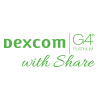 dexcom g4 platinum with share logo