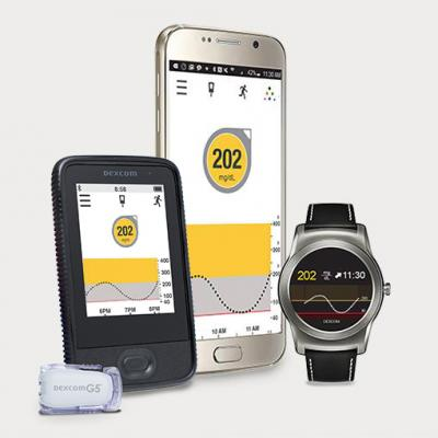 Dexcom G5 Mobile Cgm System Continuous Glucose Monitoring On Your