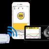 cgm transmitter sends data smart device